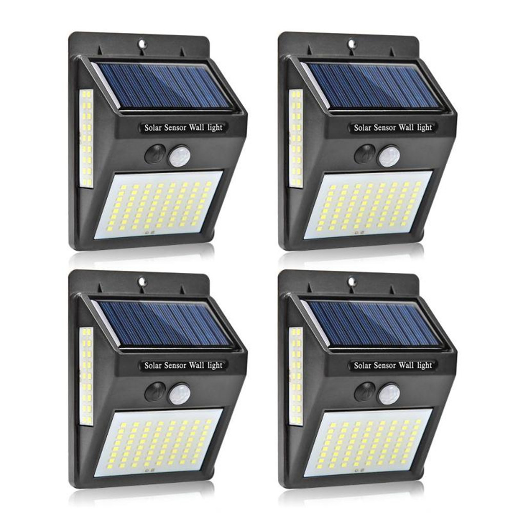 100 LED Solar Lamp 3 mode transformation Outdoor Solar Light Wall Light Waterproof Solar Powered Sunlight for Garden Decoration|Solar Lamps| |  - title=