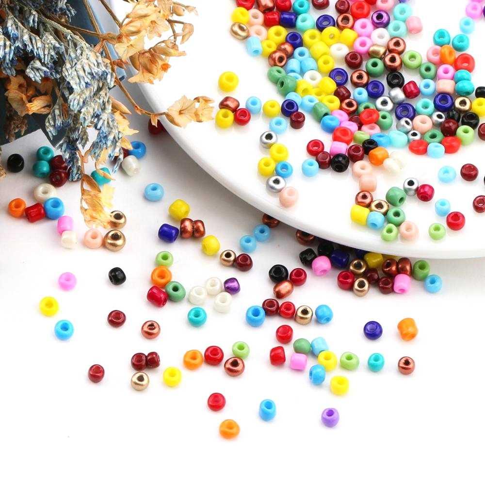 3000pcs בקבוקים 2mm זכוכית זרע חרוזים קסם צ 'כי חרוזים קטן תכשיטי חרוזים DIY צמיד שרשרת עבור תכשיטי ביצוע אבזרים