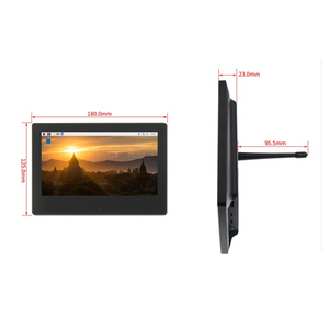 Image 5 - 7 بوصة التوت بي 3 شاشة تعمل باللمس 1024*600 شاشة الكريستال السائل ل التوت بي 3 نموذج B HDMI واجهة TFT العرض