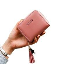Женские мини кошельки для девушек короткий Дамский кошелек на