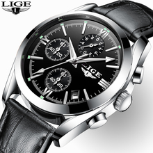 2020 New LIGE Fashion Mens Watches Top Brand Luxury Military