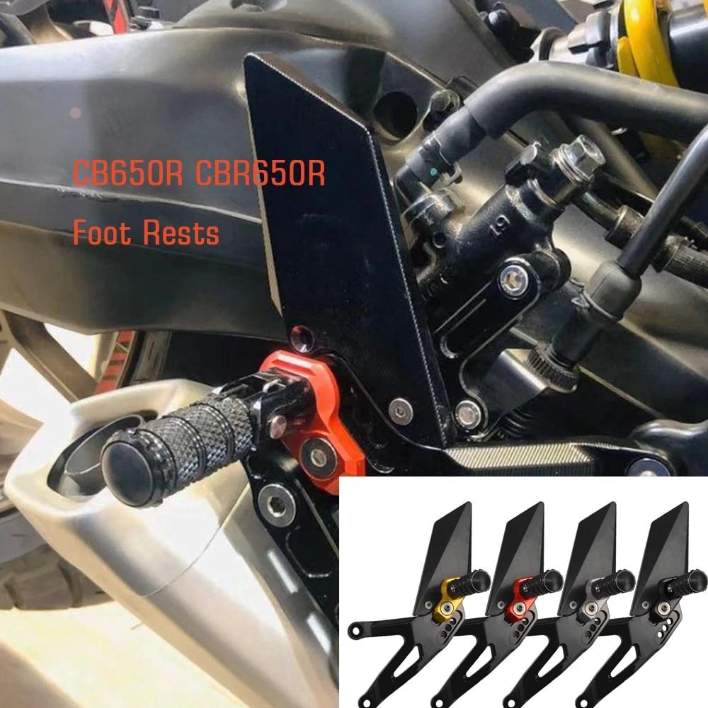 Honda CBR650R CB650R CBR CB 650 2019 Cover Footrest Passenger Pedals Pads Foot