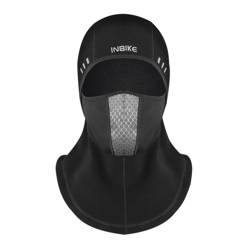 Balaclava Motorcycle Face Mask Breathable Thermal Fleece Face Shield Skull Face Mask Moto Ski Biker With Active Carbon Filters|Cycling Face Mask| |  -
