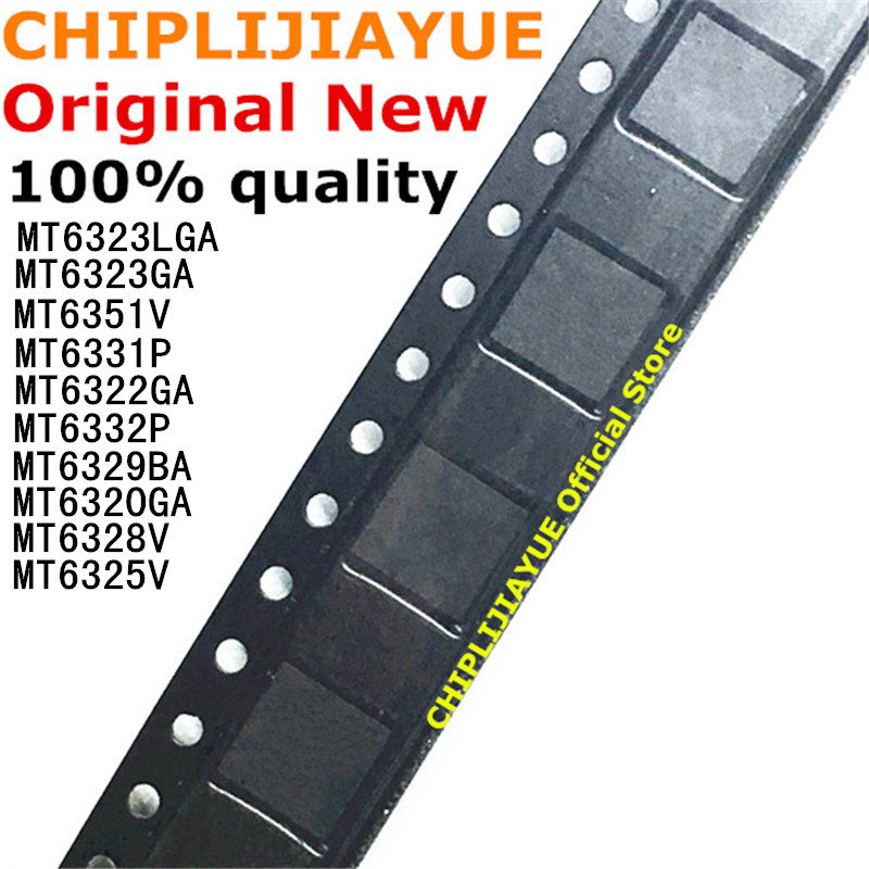 1PCS MT6351V MT6331P MT6323LGA MT6322GA MT6328V MT6320GA MT6332P MT6329BA MT6323GA MT6325V New And Original IC Chipset