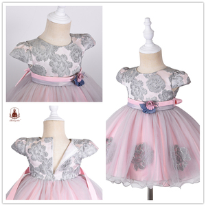 Yoliyolei/летние детские платья с жемчужинами; Детская одежда из вуали для девочек; Вечерние платья для новорожденных; Школьная одежда для дня рождения; Платье принцессы