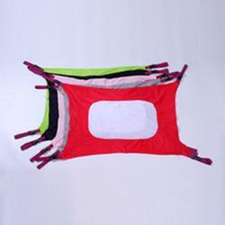 Dziecko hamak kryty łóżeczko z kołyską huśtawka kryty artykuły dla dzieci siatka na zabawki łóżko śpiące dzieci praktyczny dom w Hamaki od Meble na