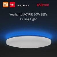 Yeelight JIAOYUE 50 Вт светодиодное потолочное освещение Дистанционное Голосовое управление затемнения RGB Освещение для Xiaomi спальни гостиной столо