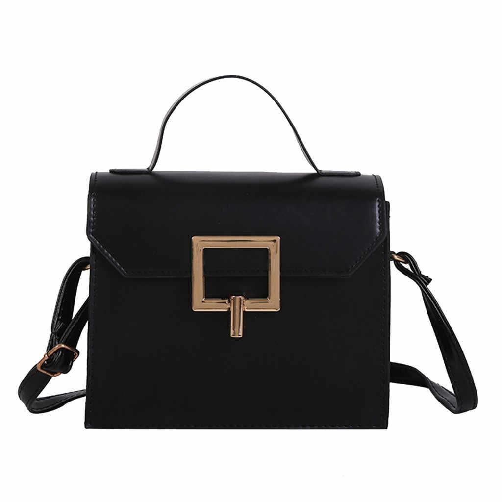 Mulheres Quadrado Pequeno Selvagem Saco Do Mensageiro Ocasional Bolsa Bolsa de Ombro Designer de Marca Famosa Bolsa de ombro das mulheres 2019 #55