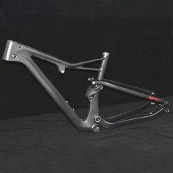 서스펜션 29er 탄소 MTB 프레임 디스크 브레이크 BB92 무광택 탄소 mtb 프레임 세트 자전거 31.6mm 27.5 650B 탄소 Mtb 프레임 자전거