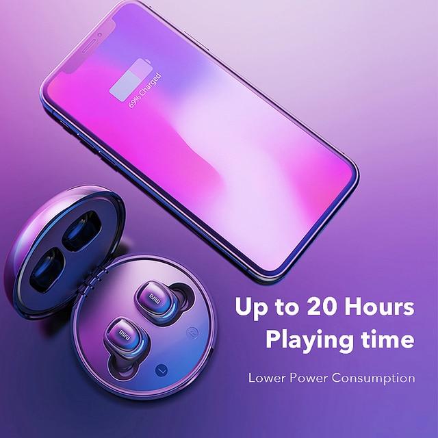 Mifa X8 TWS słuchawki douszne bezprzewodowe słuchawki bluetooth sterowanie dotykowe stereofoniczny bezprzewodowy zestaw słuchawkowy do iphonea inteligentny telefon z ładowarką