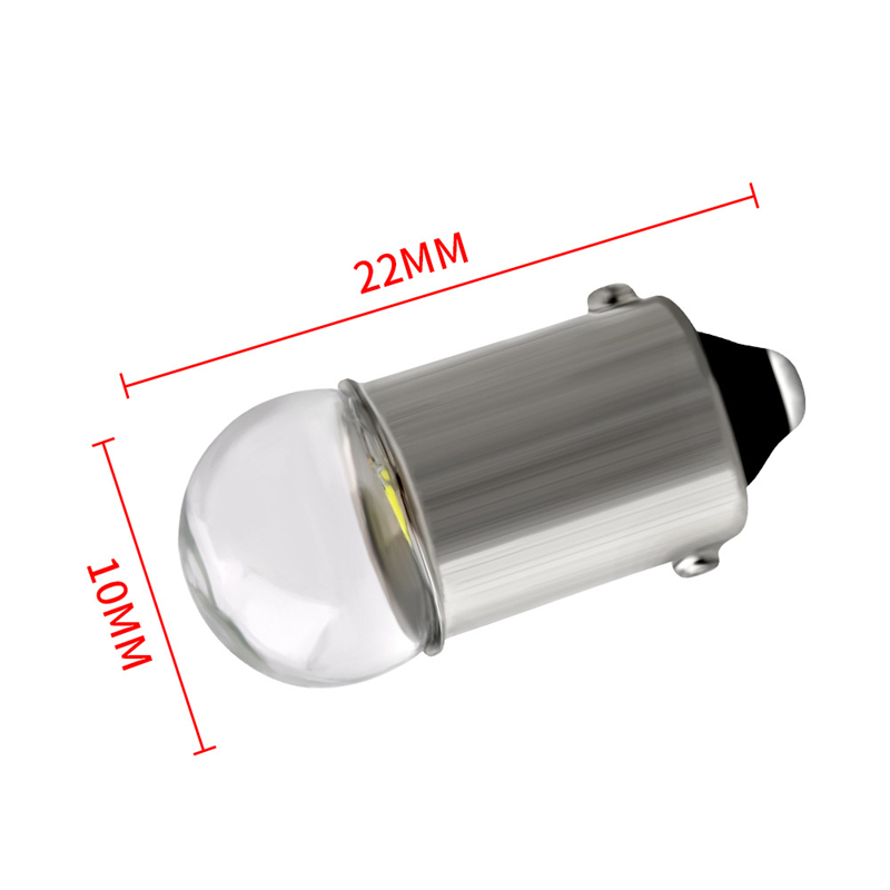 Image 4 - 10pcs BA9S LED Bulb 3030 Glass T4W High Bright White 12V Reading Dome Door Instrument Light License Plate Lights Lamp Bulb-in Signal Lamp from Automobiles & Motorcycles