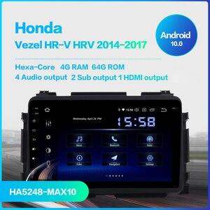 "Image 2 - Dasaita 1 din 1080P Video araba Android 10 radyo GPS Honda Vezel için HR V HRV 2014 2015 2016 2017 bluetooth 8 ""çoklu dokunmatik ekran"