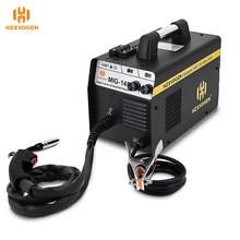 Machine à souder sans gaz MIG145, soudeur Mig 220V HZXVOGEN adapté au noyau de Flux 0.6/0.8mm épaisseur 0.8-4mm pour le soudage du fer