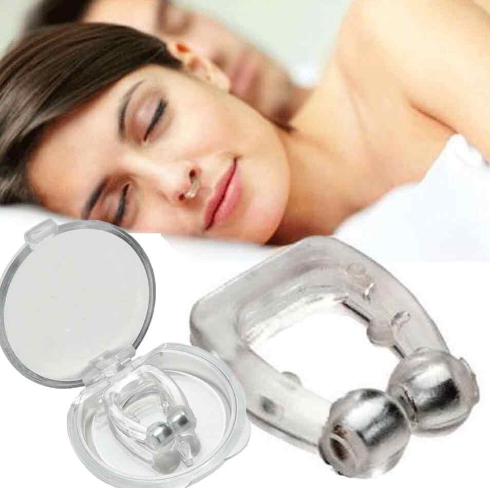Magnético anti ressonar respirar fácil sono nariz clipe ronco bujão auxiliar dilatadores nasais dispositivo nariz clipes
