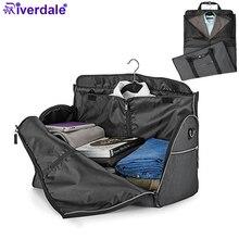 420D Водонепроницаемая нейлоновая дорожная сумка, большая дорожная сумка, сумки для багажа, органайзер с плечевым ремнем, сумка для костюма, складная дорожная сумка для мужчин