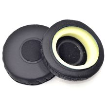 1Pair Replacement Leather Ear Pads Ear Cushion Cover Earpads for So-ny MDR-NC7 Headphones Headset replacement ear pads cushion headset earpads for marshall major on ear headphones black