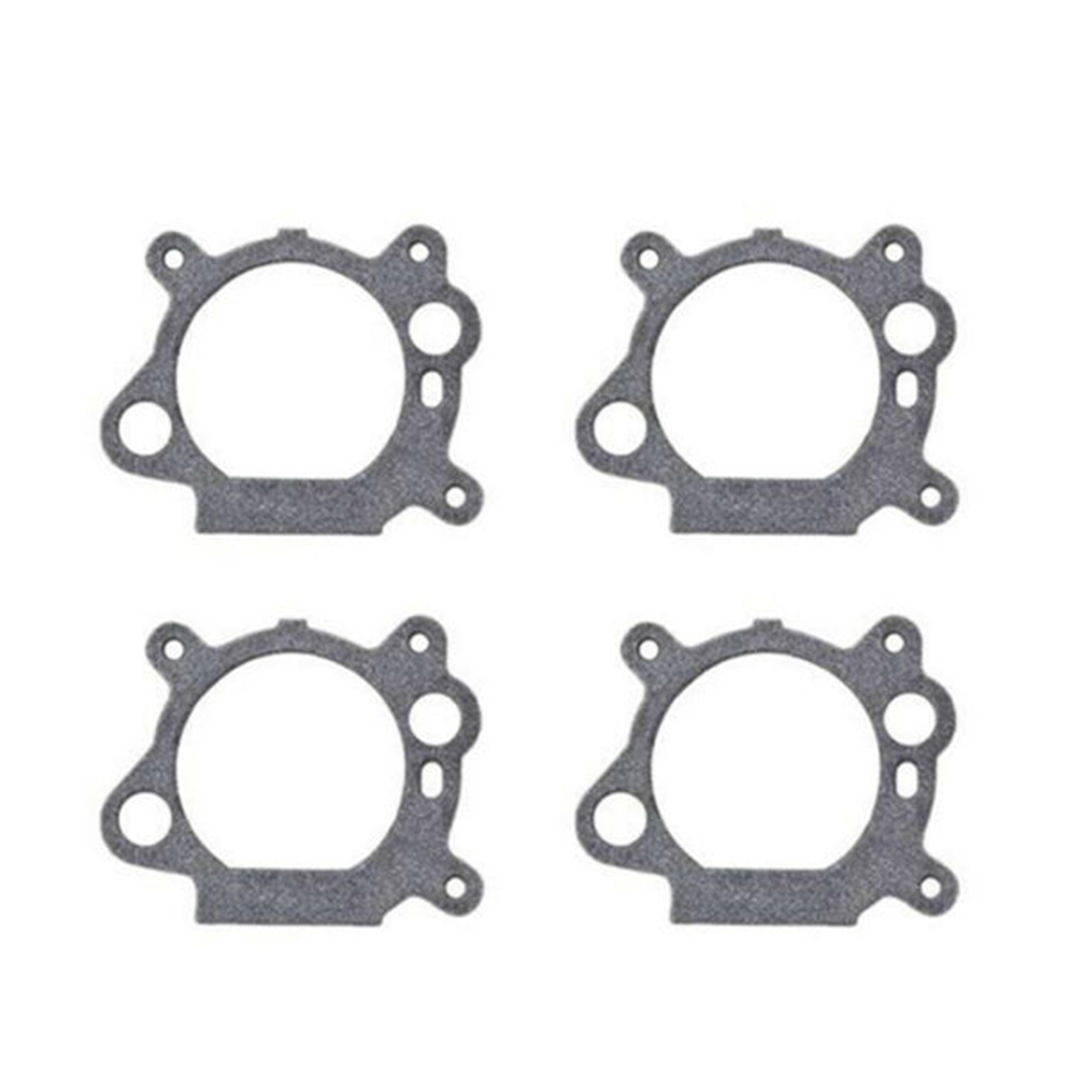 10pcs Gasket Lawn Mower Accessories Mini Spacer Durable Home Repair Carburetor Diaphragm Replacement For Briggs And Stratton