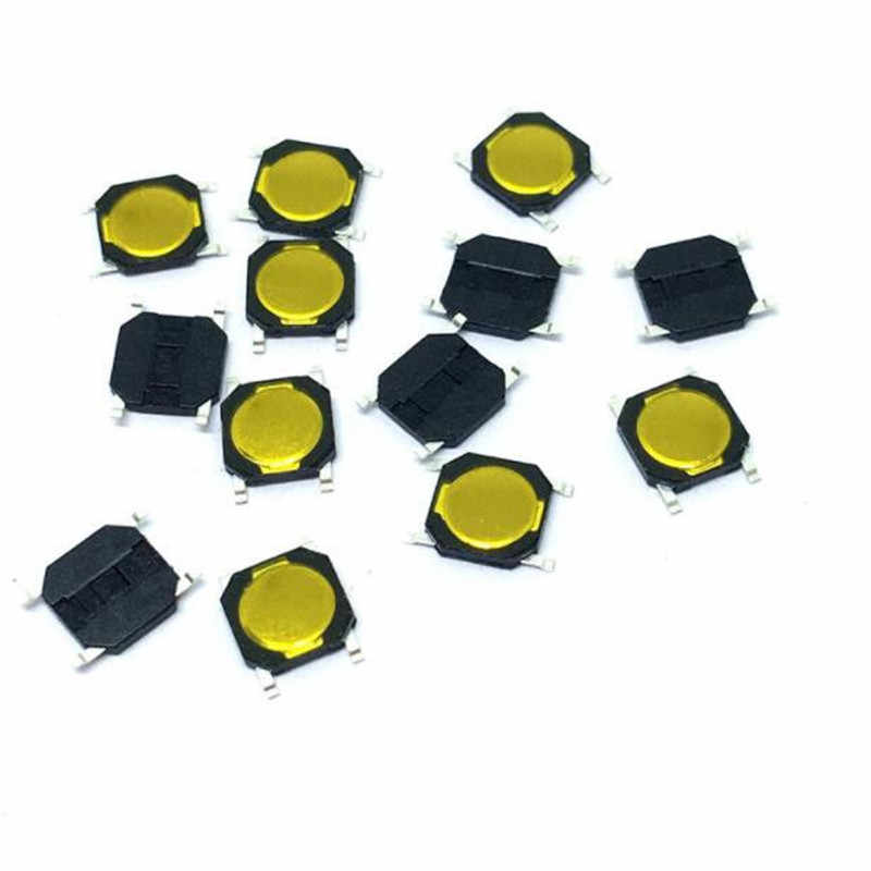 50 Pcs 4X4X0.8 Mm Kebijaksanaan Beralih SMT SMD Taktil Membran Switch Push Button SPST-NO 4*4*0.8 Tahan Air Microwave Oven Switch
