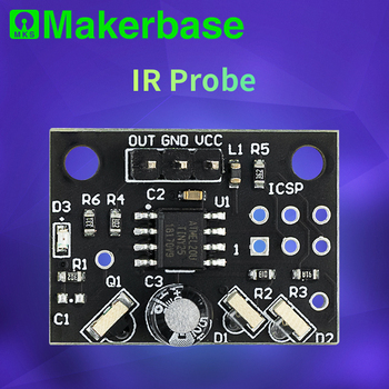 Makerbase IR Probe Mini Differential IR Height Sensor For BLV 3d printer parts Auto Leveling Duet WiFi