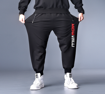 7XL 6XL XXXXL Plus Size Men Spring Print Streetwear 2020 Harem Pants Mens Collage Casual Hip Hop Sweatpants Male  Trousers цена 2017