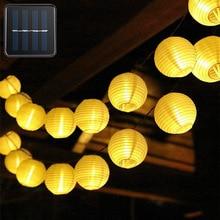 Solar Led Light Outdoor Decor Lantern Solar String Lights Street Garland LED Solar Lamp For Wedding Lantern Garden Decoration