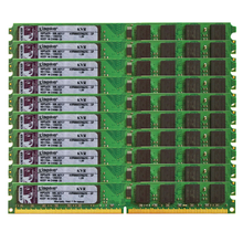 10PCS 2GB DDR2 800Mhz PC2-6400 DIMM Desktop RAM 240 Pins 1.8V NON ECC Bulk/Lot