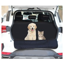 Car Pet Trunk Mat Tarpaulin Waterproof Oxford Cloth Dog Cat Back Seat Covers Rear Auto Pad Car Protection Blanket(China)