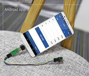 Image 4 - WitMotion WT901 TTL e I2C 9 Assi Sensore di Angolo + Accelerometro + Giroscopio + Bussola Elettronica Digitale MPU9250 su PC/Android/MCU