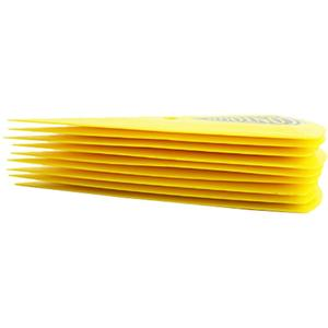Image 2 - CNGZSY – grattoir dangle de Contour, autocollant en vinyle, Triangle pointu, jaune Go, raclette dangle, outils de teinte de fenêtre, 5 pièces, 5A13