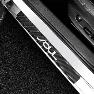 Image 3 - Для Kia Sportage 3 4 QL 3 4 K2 ОПТИМА Sorento Picanto Kia Ceed Форте Cadenza K9 души 4 шт. двери автомобиля Наклейка для порога автомобильные аксессуары