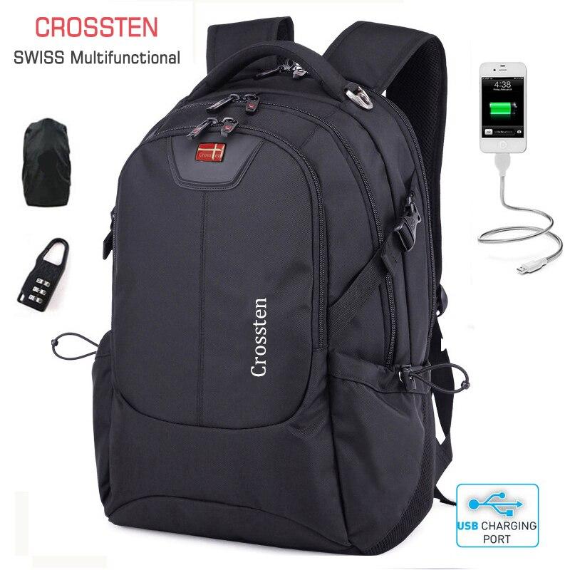 15/'/' 16/'/' 17/'/' Laptop Mens Waterproof Backpack Bag Travel Hiking School Satchel