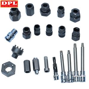Image 3 - DPL 30 stücke Lichtmaschine Freilauf Pulley Puller Lichtmaschinen Werkzeug Set Spezielle Buchse Set