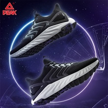 Peak Taichi Tianze Running Shoes Men Cushion Flexible Reflective Sneakers Breathable Lightweight Athletic Jogging Footwear