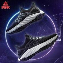 Tepe Taichi Tianze koşu ayakkabıları erkekler yastık esnek yansıtıcı Sneakers nefes hafif spor koşu ayakkabısı