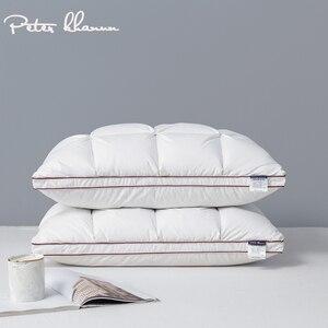 Image 1 - Peter Khanun 48*74cm marque Design 3D pain blanc canard/duvet doie plumes oreillers pour dormir lit oreillers Textile à la maison 014