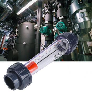 LZS-32D miernik przepływu 1-10m3 H ABS rura z tworzywa sztucznego wody w płynie rotametr przepływu przyrządy pomiarowe testowanie wody metr rury tanie i dobre opinie VBESTLIFE Hydraulika Mężczyzna BSPP Gwint