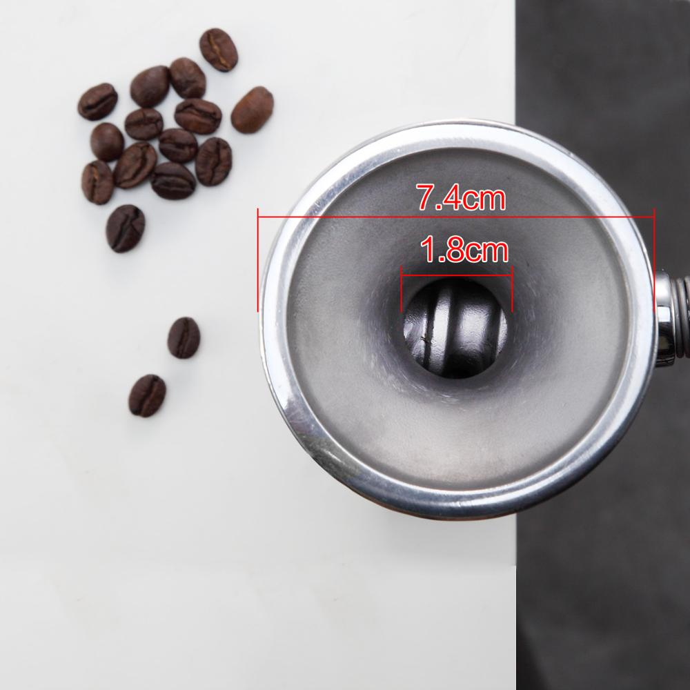 Image 3 - manual home use stainless steel dry grain seed spice mill grinder crusher-in Electric Coffee Grinders from Home Appliances