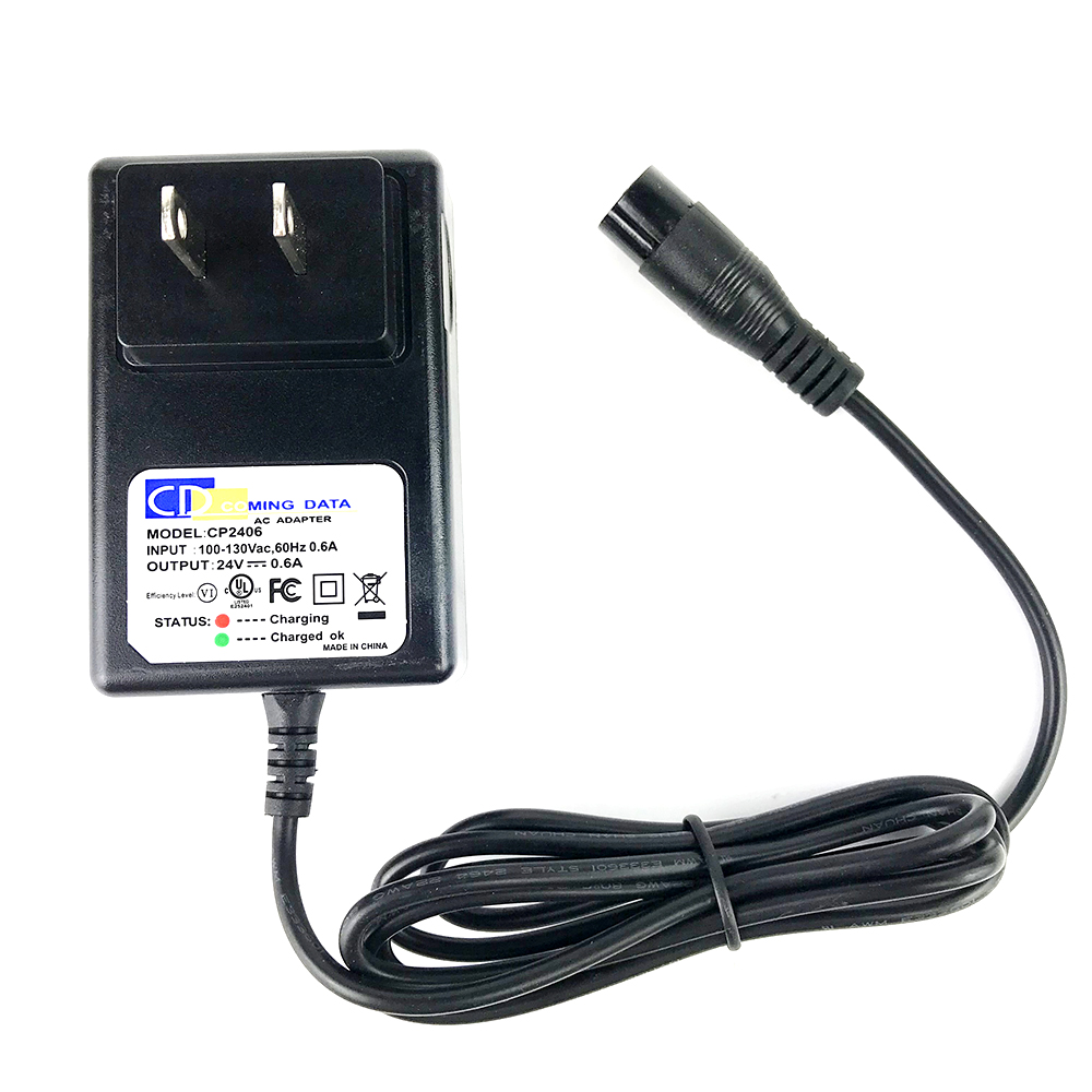 24V Electric Scooter Battery Charger For RAZOR E100 E200 E300 E125 E150E500 US Plug