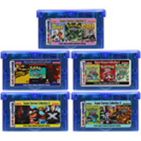 32 Bit Video Game Cartridge Console Card for Nintendo GBA Compilations Collection EN Series English Language Version