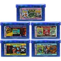 32 비트 비디오 게임 카트리지 콘솔 카드 닌텐도 gba 컴파일 컬렉션 en 시리즈 영어 버전