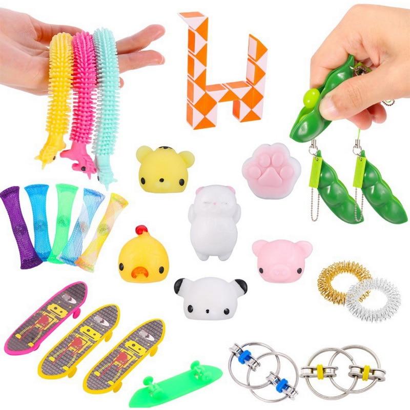 Fidget-Toys-Set Marbles-Ball Hand-Fidget Autism Edc-Stress ADHD Relief Sensory 20pcs