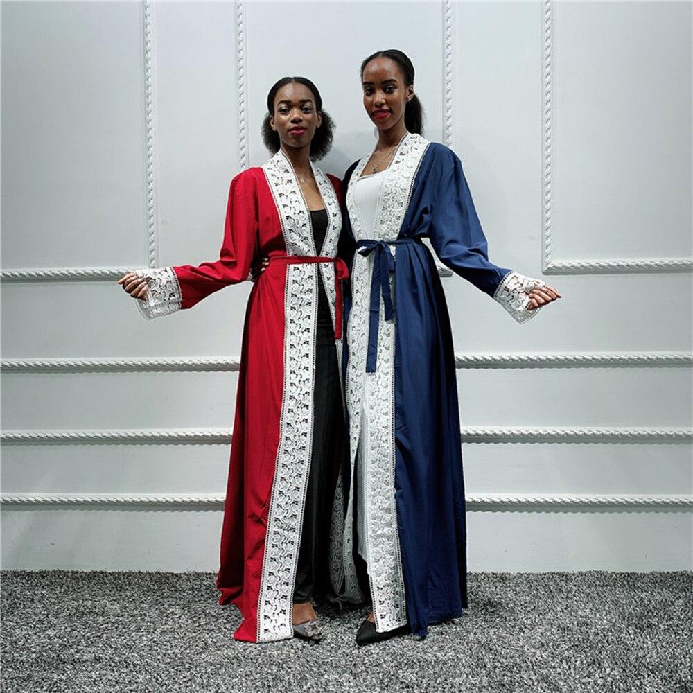 Women Abaya Kimono Cardigan Turkish Hijab Muslim Dress Kaftan Dubai Abayas Turkey Saudi Arabia Pakistan Islamic Clothing Turkey