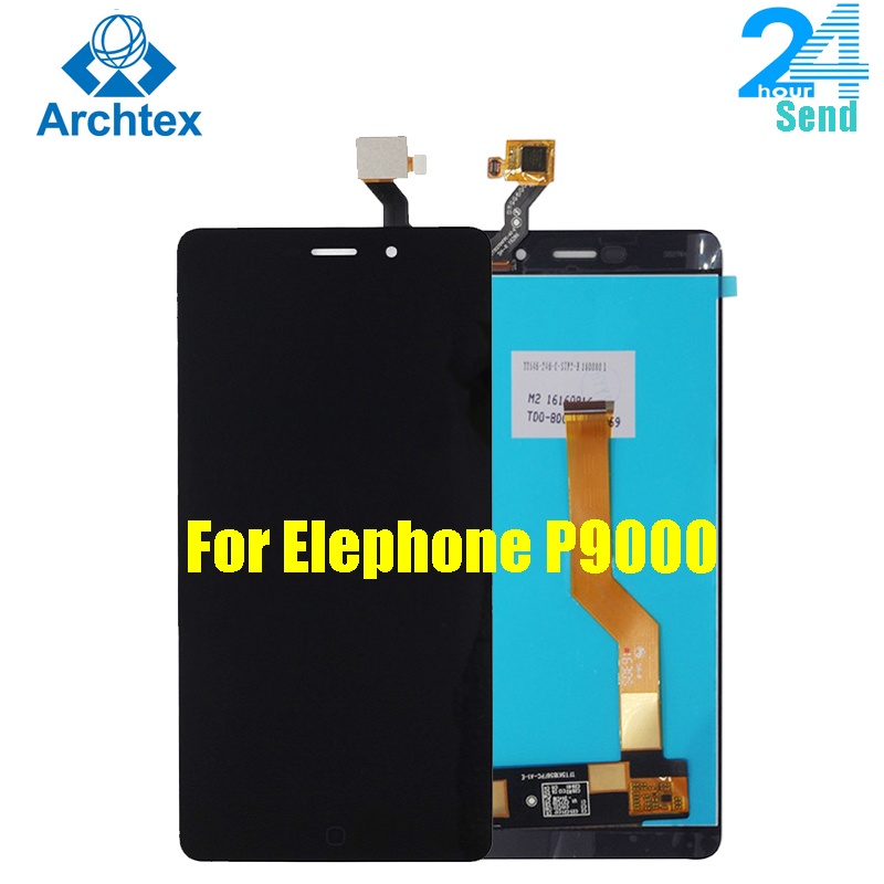 For 100% Original Elephone P9000 P9000 Lite LCD Display + Touch Screen Digitizer Assembly Tools For P9000 1920X1080 5.5