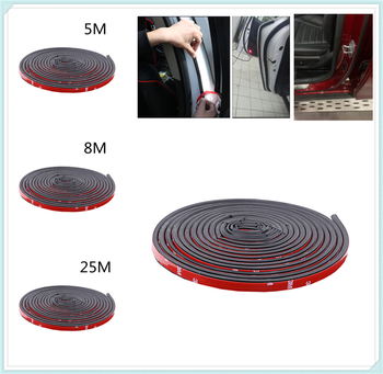Universal Car Modification Parts Door Sticker B Type Rubber Seal for BMW M8 M550i M550d M4 M3 E92 E38 E91 E53 E70 X5 M M3 image