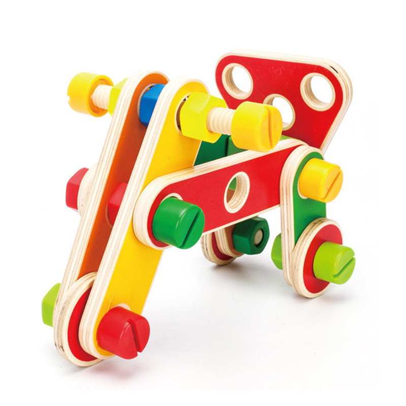 78Pcs Variety Nut Combination Child Shape Cognitive Disassembly Educational Toy