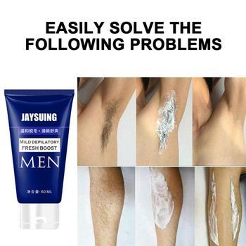 60ML krem do depilacji włosów pachy i nogi krem do depilacji włosów dla mężczyzn męski krem do depilacji twarzy depilacja tanie i dobre opinie FOCALLURE Mężczyzna CN (pochodzenie) Hair Removal Cream general Dropshipping