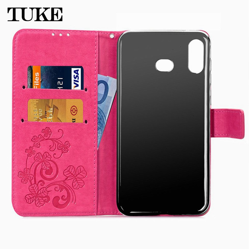 For <font><b>OPPO</b></font> A3 A5 A7 A9 A33 A37 A53 A57 A59 A83 F5 <font><b>F9</b></font> F11 K1R9 R9S Plus Pro Case TPU Embossed Diamond Leather Case <font><b>Cover</b></font> Free Strap image