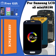 Assembly Touch-Screen Super-Amoled S3 Mini Samsung Galaxy Digitizer Lcd-Display Gt-I8190