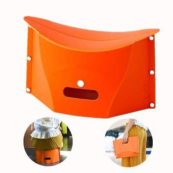 Przenośny składany stołek na wędkowanie Camping piesze wycieczki lekki nośność 110Kg łatwy do przenoszenia i przechowywania w pomieszczeniach lub na zewnątrz tanie i dobre opinie Aotu