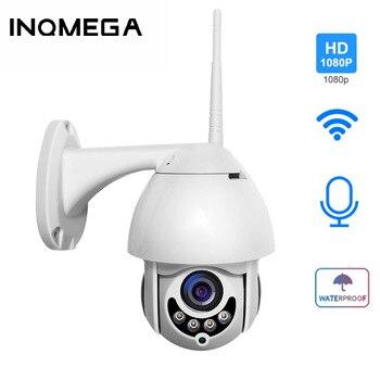INQMEGA 1080P HD PTZ IP caméra extérieure WIFI caméra Super vitesse dôme CCTV caméras de sécurité Onvif caméra P2P APP XM